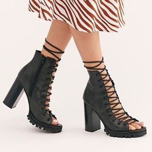 Free People x Jeffrey Campbell Palermo Heels 9.5🆕